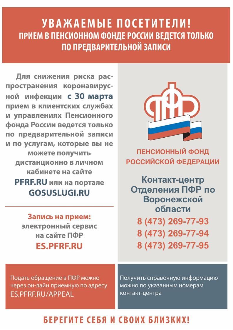 пенсионный фонд россии вклады