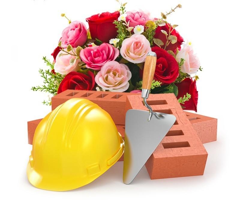 Праздничное поздравление с днем строителя